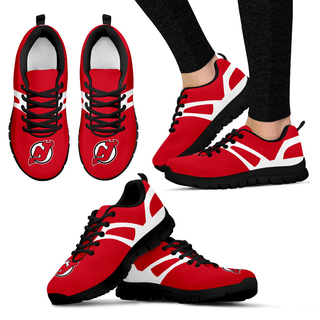 Line Amazing Bottom New Jersey Devils Sneakers