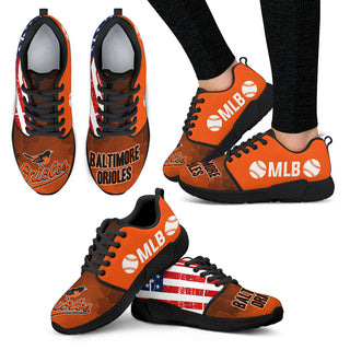 Simple Fashion Baltimore Orioles Shoes Athletic Sneakers