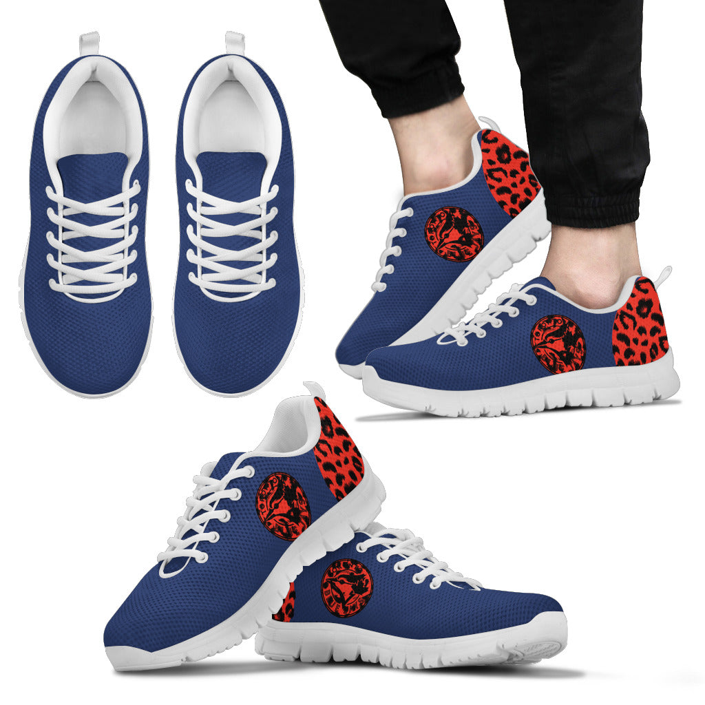 Cheetah Pattern Fabulous Toronto Blue Jays Sneakers