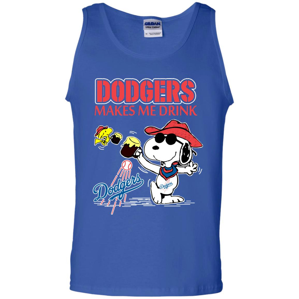 Los Angeles Dodgers Makes Me Drinks T Shirts