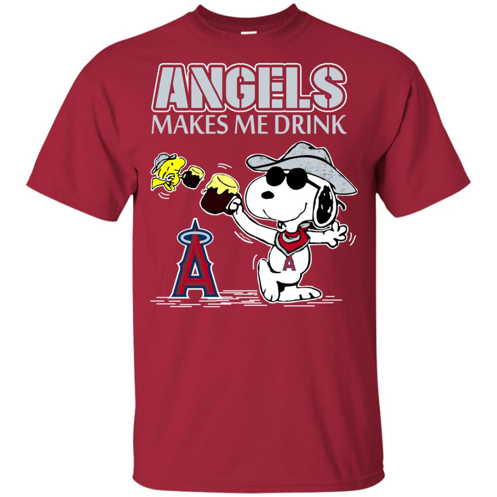 Los Angeles Angels Makes Me Drinks T Shirts