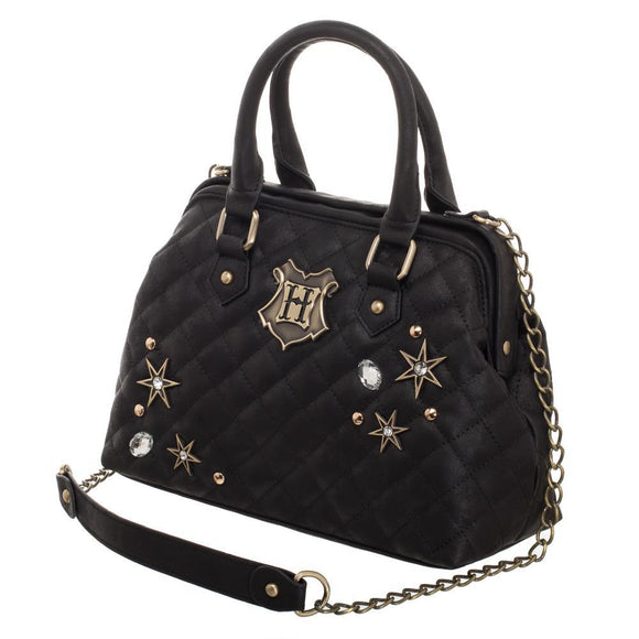 Back To Hogwarts Harry Potter Quilted Embellished Handbag