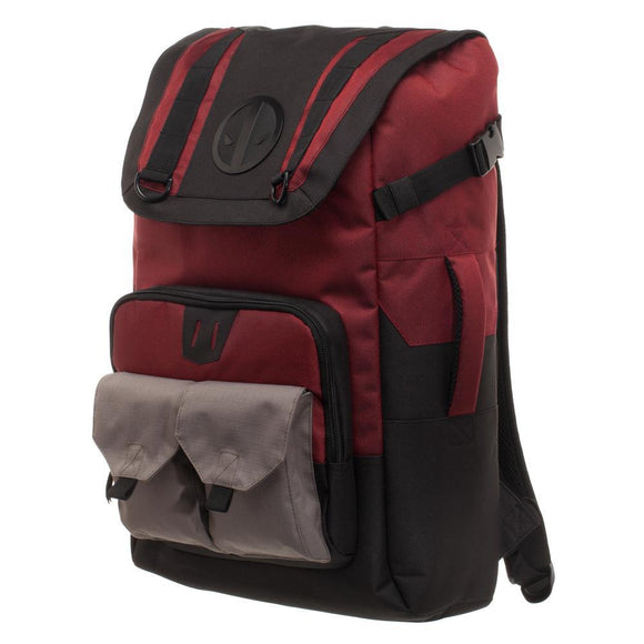 Black and Red Deadpool Backpack