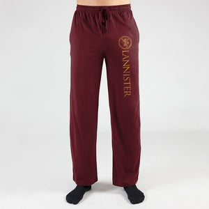 Game Of Thrones House Lannister Sweatpants