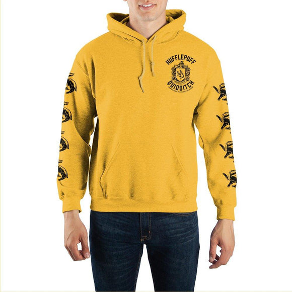Harry Potter Hufflepuff Quidditch Hooded Sweatshirt