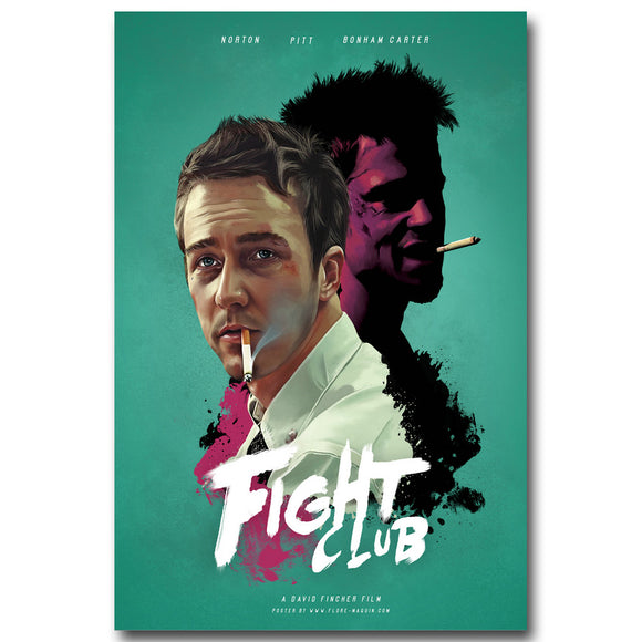 Fight Club | Minimal Silk Poster