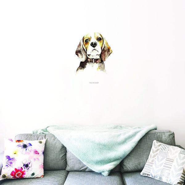 Beagle Decal - TheInkBucketstore