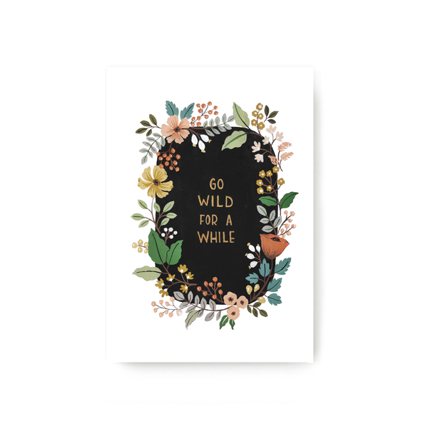 Go Wild Notebook - TheInkBucketstore
