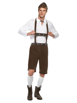 Men's Plus Size Bavarian Man Costume
