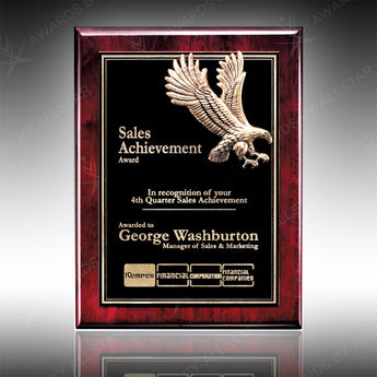 Majestic Eagle Plaque
