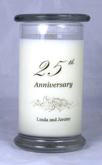 Customizable Anniversary Candle (4)