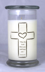 Customizable Baptism Candle (2)
