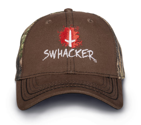Brown and Camo Hat
