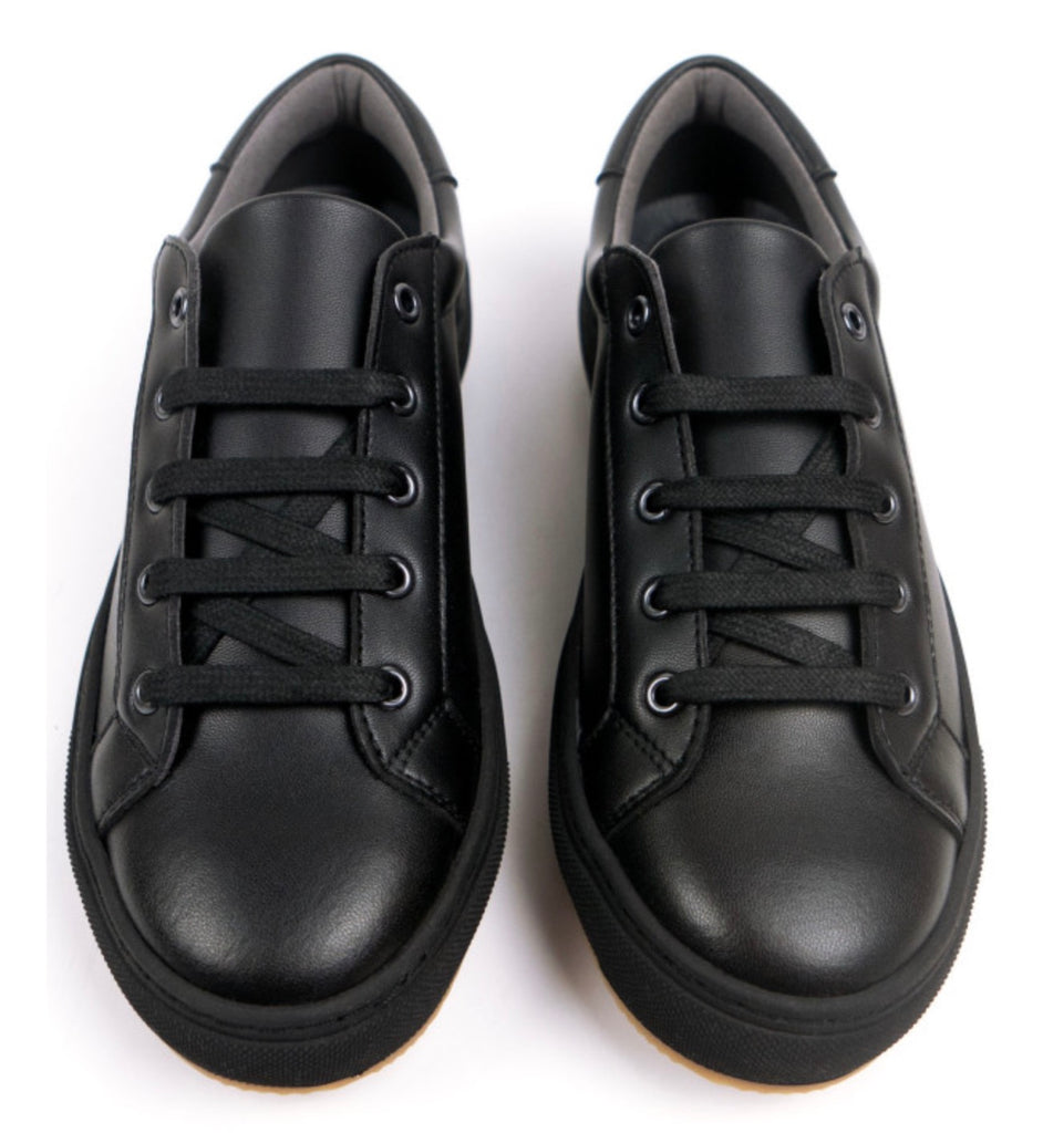 Will's Vegan New York Trainers Black