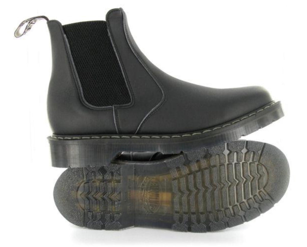 Vegetarian Shoes Airseal Chelsea Boot Black