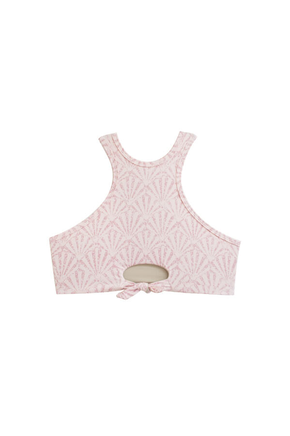 Irina Shell Rose Top
