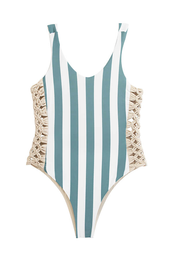 Jess Ocean's Stripes One Piece