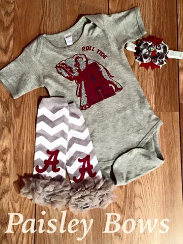Alabama Girl - Paisley Bows