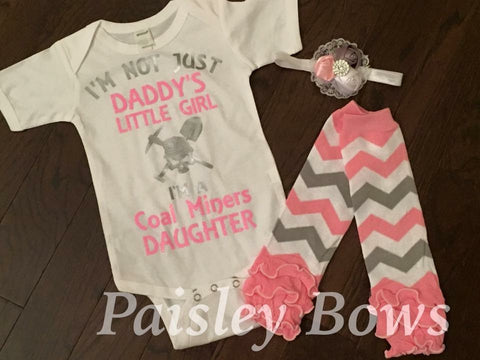 Coal Miners Daughter - Paisley Bows