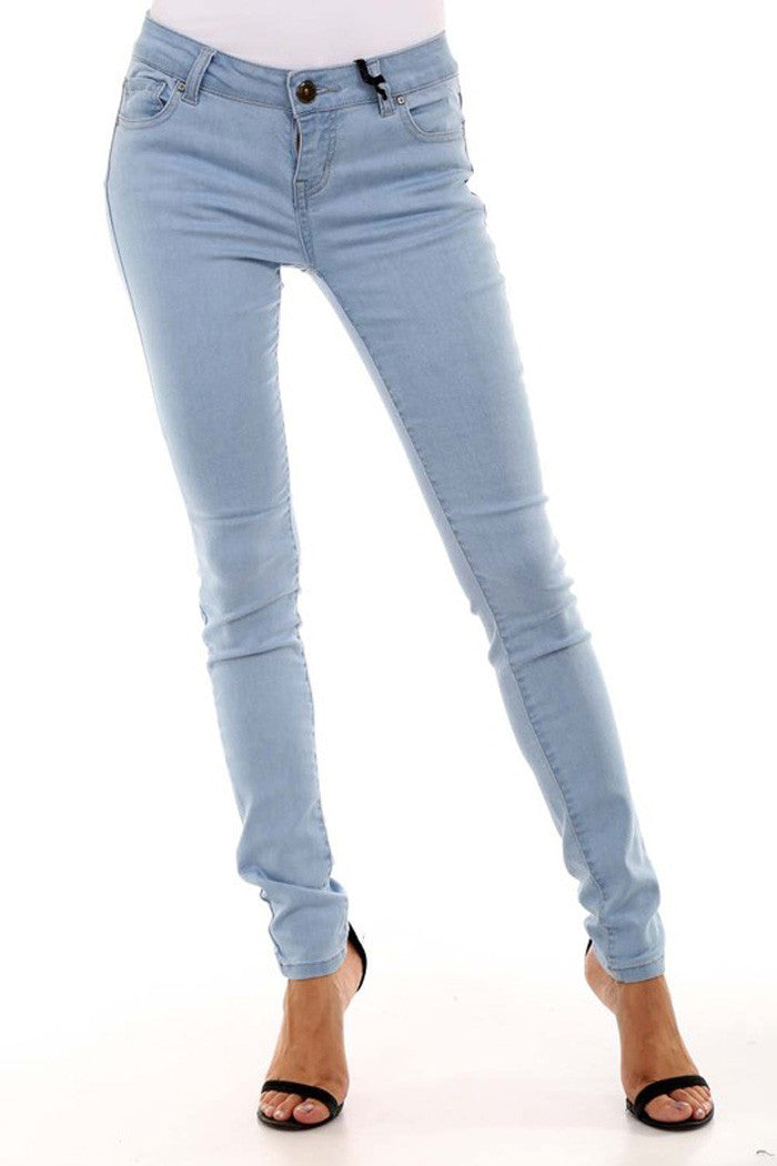 Stretchy Skinny Pants -  - GOZON