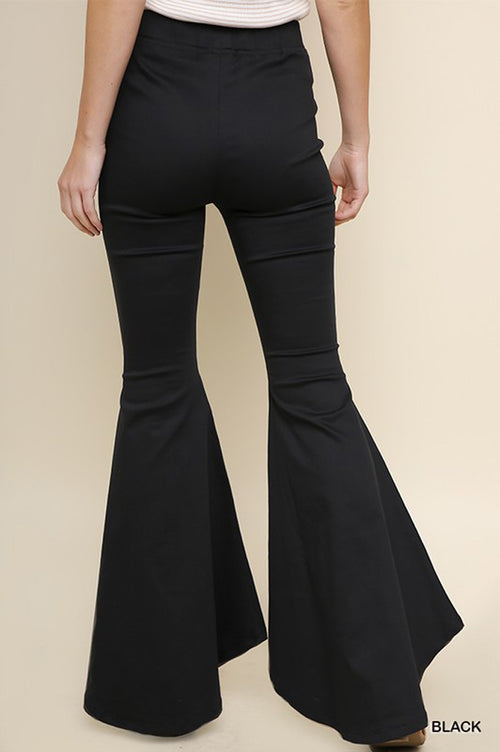 Willow Flare Leg Pants : Black
