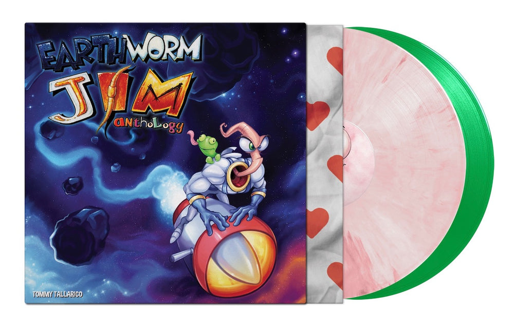 Earthworm Jim Anthology by Tommy Tallarico coloured vinyl