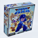 Mega Man board game front box art