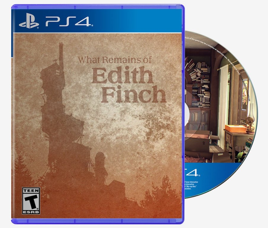 What Remains of Edith Finch PS4 Physical Edition