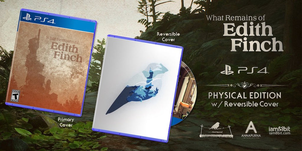 What Remains of Edith Finch PS4 Physical Edition 2