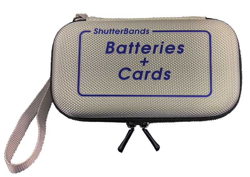 Batteries + Cards Case for FujiFilm NP-T125 batteries (BC-012)