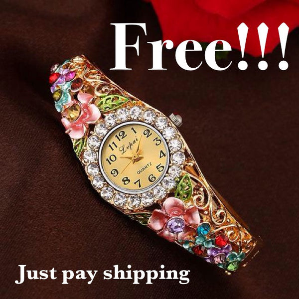 Free Luxurious Watches - (Just Pay Shipping)