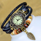 Free Leather Bracelet Clock Watches (Just Pay Shipping)