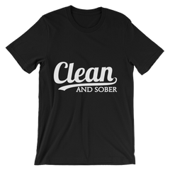 Clean and Sober Men's T-Shirt