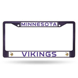 Vikings NFL Chrome License Plate Frames - Fan Shop TODAY