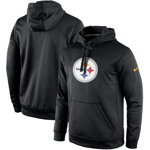 Pittsburgh Steelers Nike Circuit Logo Essential Performance Pullover Hoodie - Fan Shop TODAY