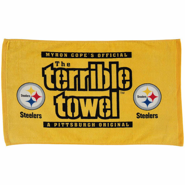 Pittsburgh Steelers NFL MYRON COPE'S Terrible Towel - Fan Shop TODAY