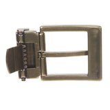 1 1/4 Inch (34 mm) Nickel Free Brass or Gold Clamp Belt Buckle