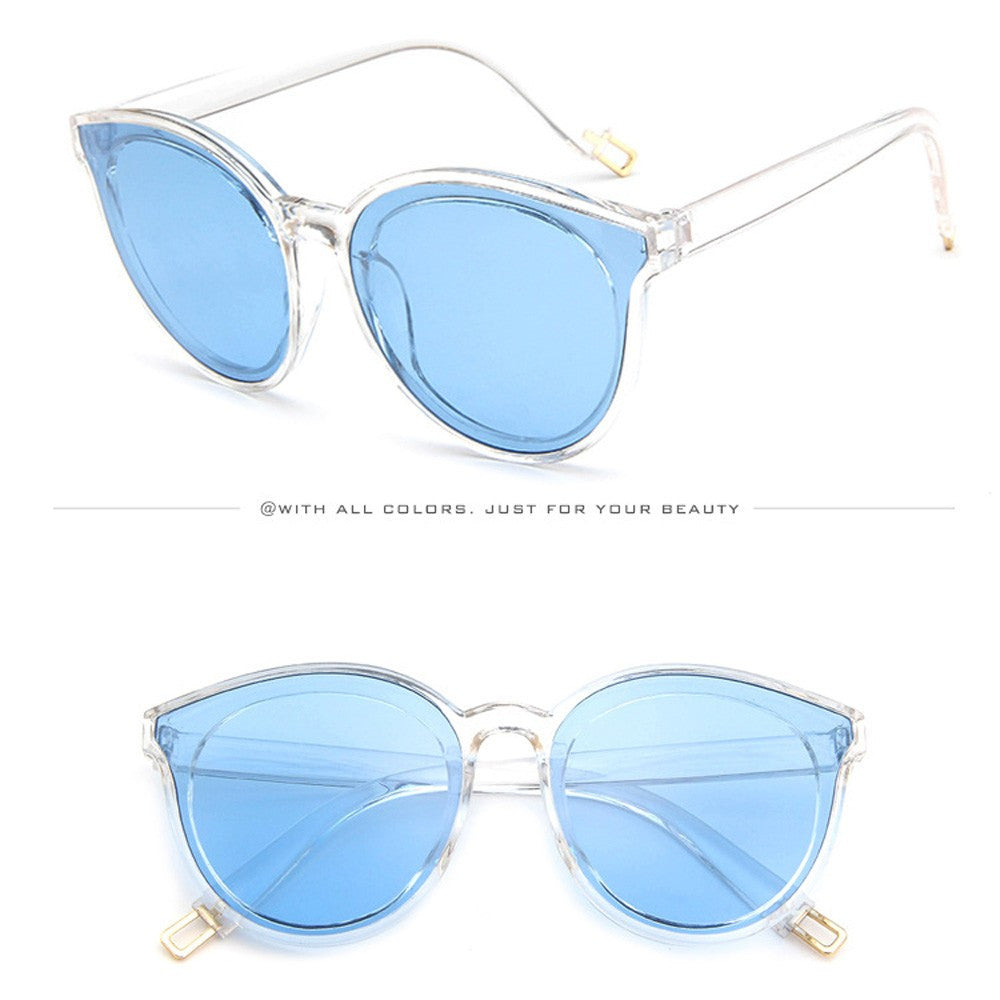 Mens Womens Retro Big Frame Vintage Rapper Sunglasses Eyewears