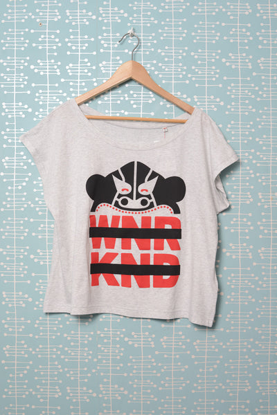 BUSK x WNRKND Wide Female T-Shirt white