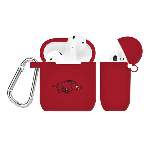 Arkansas Razorbacks Silicone AirPod Case - DealsAmazingDeals.com