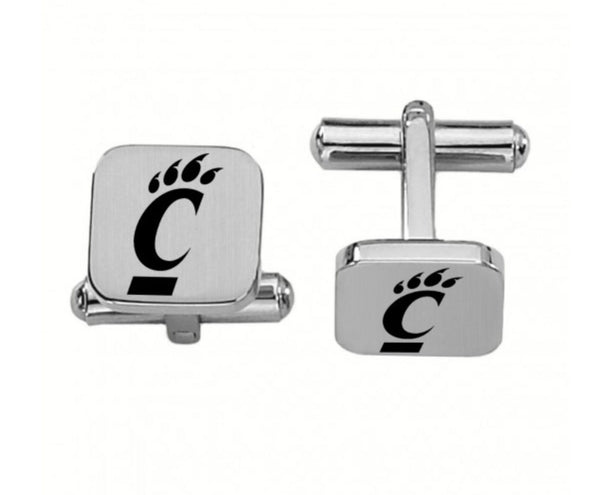 Cincinnati Bearcats Stainless Steel Cufflinks - DealsAmazingDeals.com