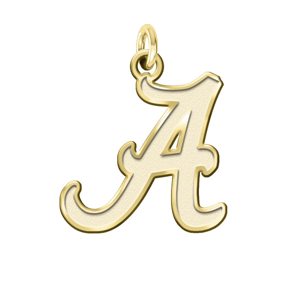 Alabama Crimson Tide 14KT Gold Charm - DealsAmazingDeals.com