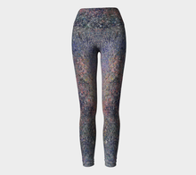 Monet Inspired Pebbles in the Shuswap ealanta Yoga Leggings