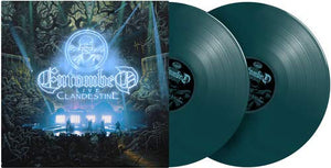 Entombed - Clandestine: Live [2LP] Dark Green Vinyl, poster) - Urban Vinyl Records