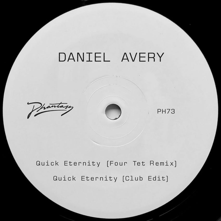 Daniel Avery - Quick Eternity [12''] (Four Tet Remix, limited to 400) - Urban Vinyl Records
