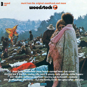 Various Artists - Woodstock 3 Days Of Peace Music (Mono PA Version) [3LP] - Urban Vinyl Records