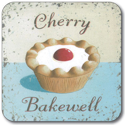 Cherry Bakwell  Coaster<br>(Pack of 10)