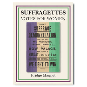 Great Suffrage Demonstration Fridge Magnet<br>(Pack of 10)