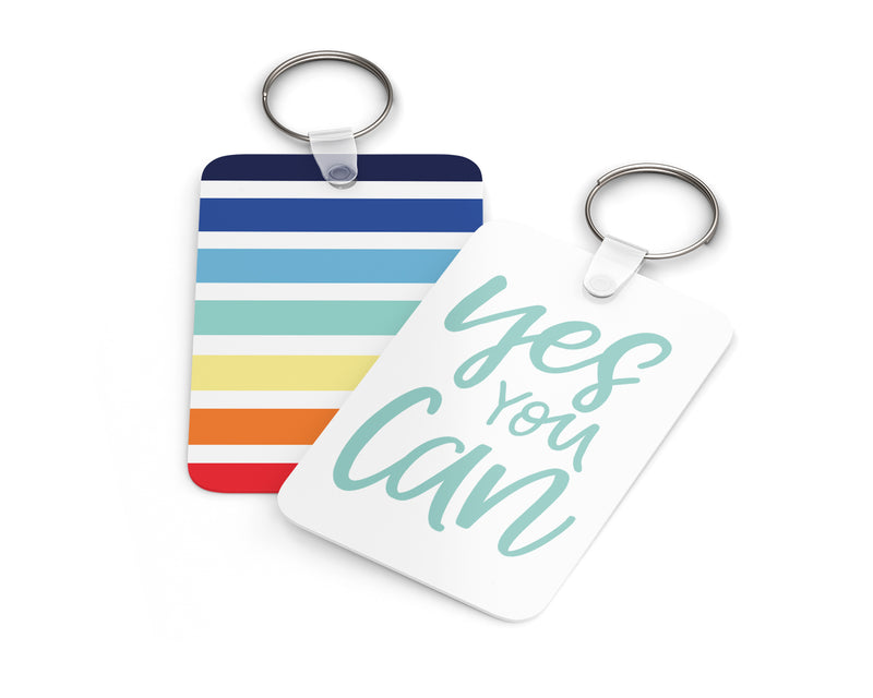 Yes You Can Keychain