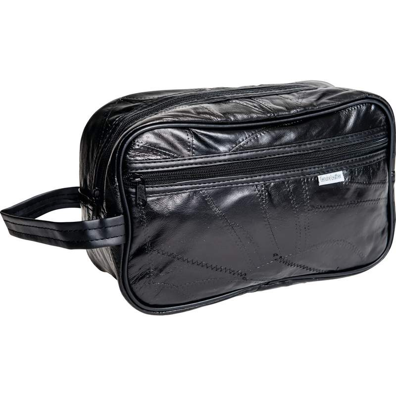 Embassy Genuine Leather Personal Travel Bag
